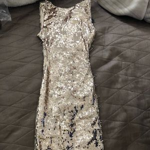 Dresses & Skirts - Lovely shiny sequence dress never worn